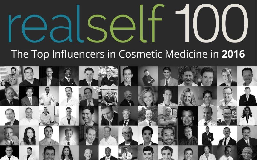 Dr. Kian Karimi Receives Prestigious RealSelf 100 Award